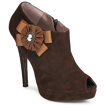 Schoenen Dames Low boots Fericelli ASSETE Brown