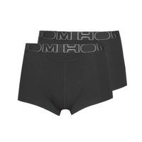 Ondergoed Heren Boxershorts Hom HOM BOXERLINES BOXER BRIEF HO1 PAXK X2 Zwart