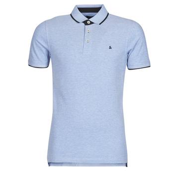 Textiel Heren Polo's korte mouwen Jack & Jones JJEPAULOS Blauw