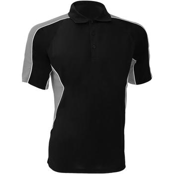 Textiel Heren Polo's korte mouwen Gamegear Active Zwart/Grijs