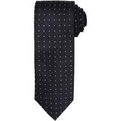 Textiel Heren Krawatte und Accessoires Premier Dot Pattern Zwart/Donkergrijs
