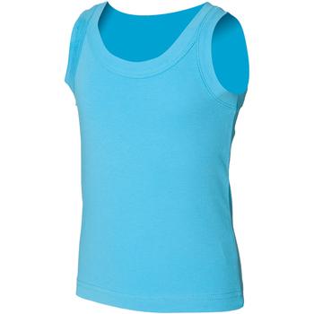 Textiel Kinderen Mouwloze tops Skinni Fit SM016 Surf Blauw