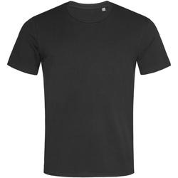 Textiel Heren T-shirts korte mouwen Stedman  Zwart Opaal