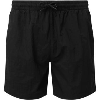 Textiel Heren Korte broeken / Bermuda's Asquith & Fox AQ053 Zwart/Zwart