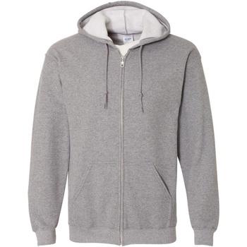 Textiel Heren Sweaters / Sweatshirts Gildan Hooded Grafiet Heide