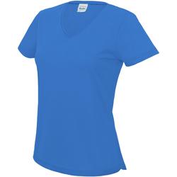 Textiel Dames T-shirts korte mouwen Awdis Girlie Saffierblauw