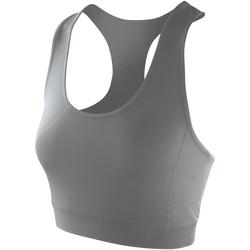 Textiel Dames Sport BHs Spiro Softex Bewolkt Grijs