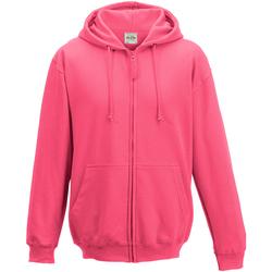 Textiel Heren Sweaters / Sweatshirts Awdis JH050 Heet Roze