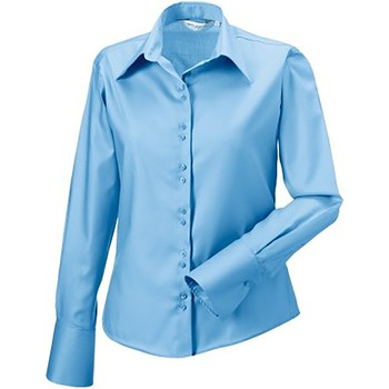 Textiel Dames Overhemden Russell Ultimate Heldere lucht