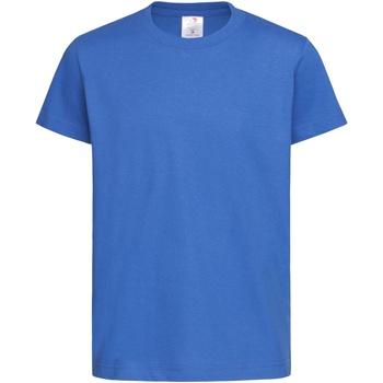 Textiel Kinderen T-shirts korte mouwen Stedman Organic Helder Koninklijk