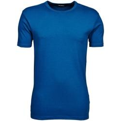 Textiel Heren T-shirts korte mouwen Tee Jays TJ520 Indigo