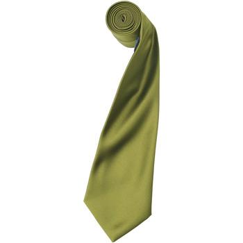 Textiel Heren Krawatte und Accessoires Premier Satin Khaki