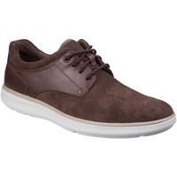 Schoenen Heren Derby Rockport Pointed Toe Donkerbruin