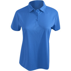 Textiel Dames Polo's korte mouwen Awdis Girlie Saffierblauw