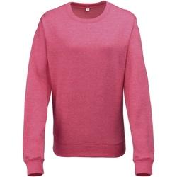 Textiel Dames Sweaters / Sweatshirts Awdis Heather Roze Heide