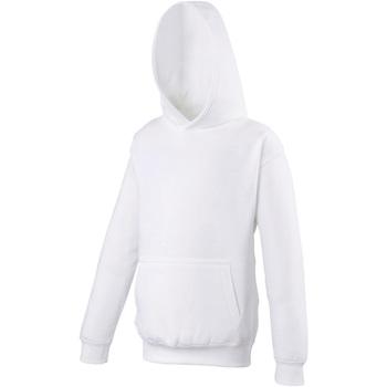 Textiel Kinderen Sweaters / Sweatshirts Awdis Hooded Arctisch Wit