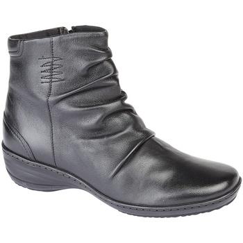 Schoenen Dames Laarzen Mod Comfys Mid Stitch Zwart