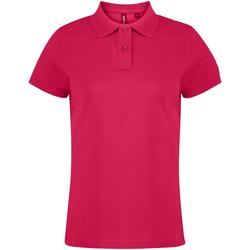 Textiel Dames Polo's korte mouwen Asquith & Fox  Heet Roze