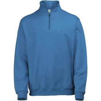Textiel Heren Fleece Awdis Sophomore Saffierblauw