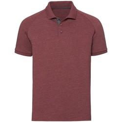 Textiel Heren Polo's korte mouwen Russell Jersey Marl