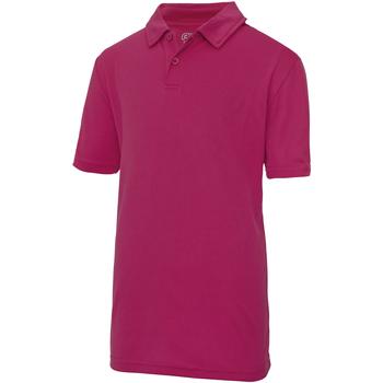Textiel Kinderen Polo's korte mouwen Just Cool  Heet Roze