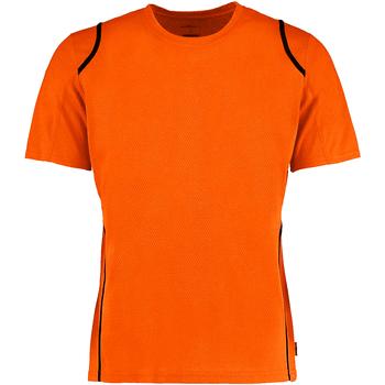 Textiel Heren T-shirts korte mouwen Gamegear Cooltex Fluorescerend Oranje/Zwart