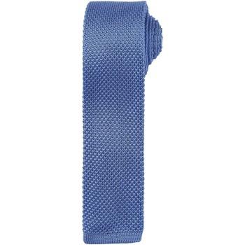 Textiel Heren Krawatte und Accessoires Premier Textured Middenblauw