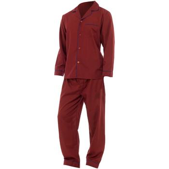 Textiel Heren Pyjama's / nachthemden Universal Textiles  Rood