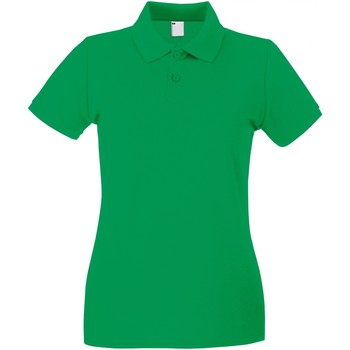 Textiel Dames Polo's korte mouwen Universal Textiles Casual Helder groen