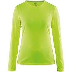 Textiel Dames T-shirts met lange mouwen Craft CT89F Flumino