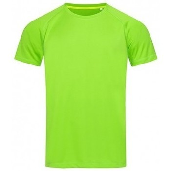 Textiel Heren T-shirts korte mouwen Stedman Active Groen