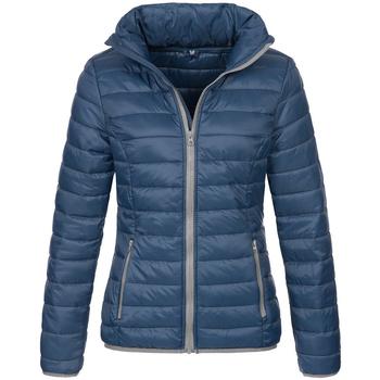Textiel Heren Dons gevoerde jassen Stedman Active Donkerblauw