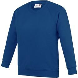 Textiel Kinderen Sweaters / Sweatshirts Awdis Academy Diep koninklijk