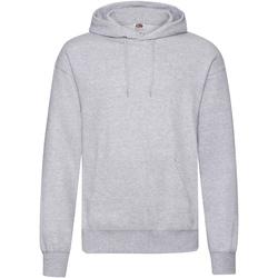 Textiel Heren Sweaters / Sweatshirts Fruit Of The Loom Hooded Heather Grijs