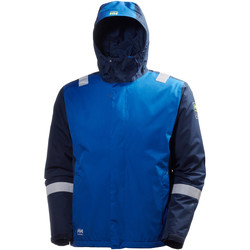Textiel Heren Windjacken Helly Hansen Aker Egyptisch Blauw/Evening Blauw