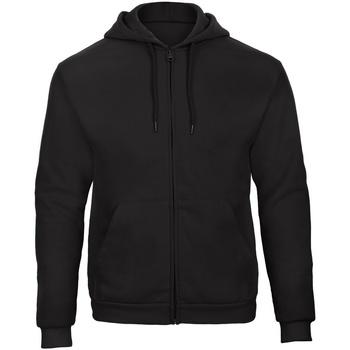 Textiel Sweaters / Sweatshirts B And C ID.205 Zwart