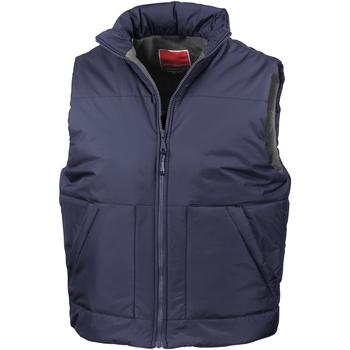 Textiel Dames Vesten / Cardigans Result R44X Marineblauw