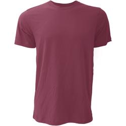 Textiel Heren T-shirts korte mouwen Bella + Canvas Jersey Bordeaux