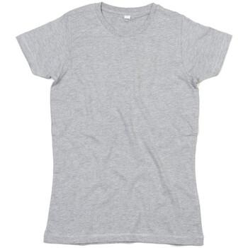 Textiel Dames T-shirts korte mouwen Mantis Superstar Heide Grijs Melange