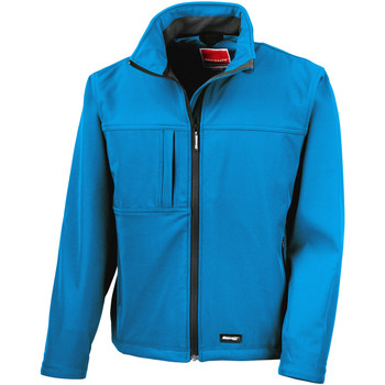 Textiel Heren Windjacken Result Performance Azuurblauw