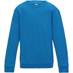 Textiel Kinderen Sweaters / Sweatshirts Awdis JH30J Saffierblauw