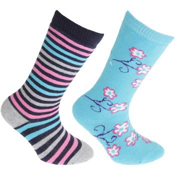 Accessoires Kinderen Sokken Floso Welly Blauw/roze