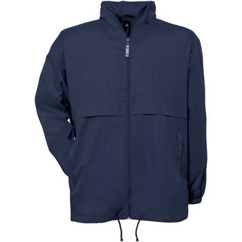 Textiel Heren Windjacken B And C Air Marineblauw