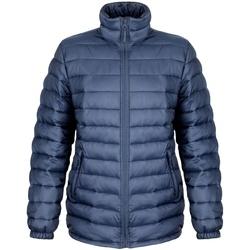 Textiel Dames Dons gevoerde jassen Result Ice Bird Marineblauw