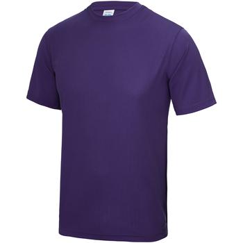 Textiel Kinderen T-shirts korte mouwen Just Cool JC01J Paars