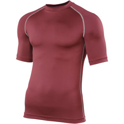 Textiel Heren T-shirts korte mouwen Rhino RH002 Marron