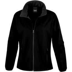 Textiel Heren Fleece Result R231M Zwart / Zwart