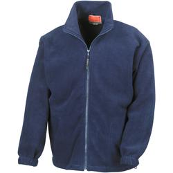 Textiel Heren Fleece Result Active Marineblauw