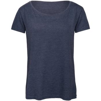 Textiel Dames T-shirts korte mouwen B And C Favourite Heide-Marine