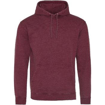 Textiel Sweaters / Sweatshirts Awdis Washed Gewassen Bourgogne
